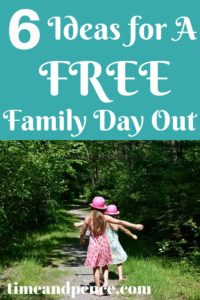 6 Ideas for a Free Family Day Out Children Walking