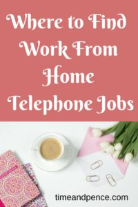 Work From Home Telephone Jobs Desk Flowers Cup of Tea