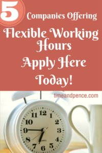 companies that offer flexible working hours