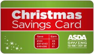 asda christmas savings card