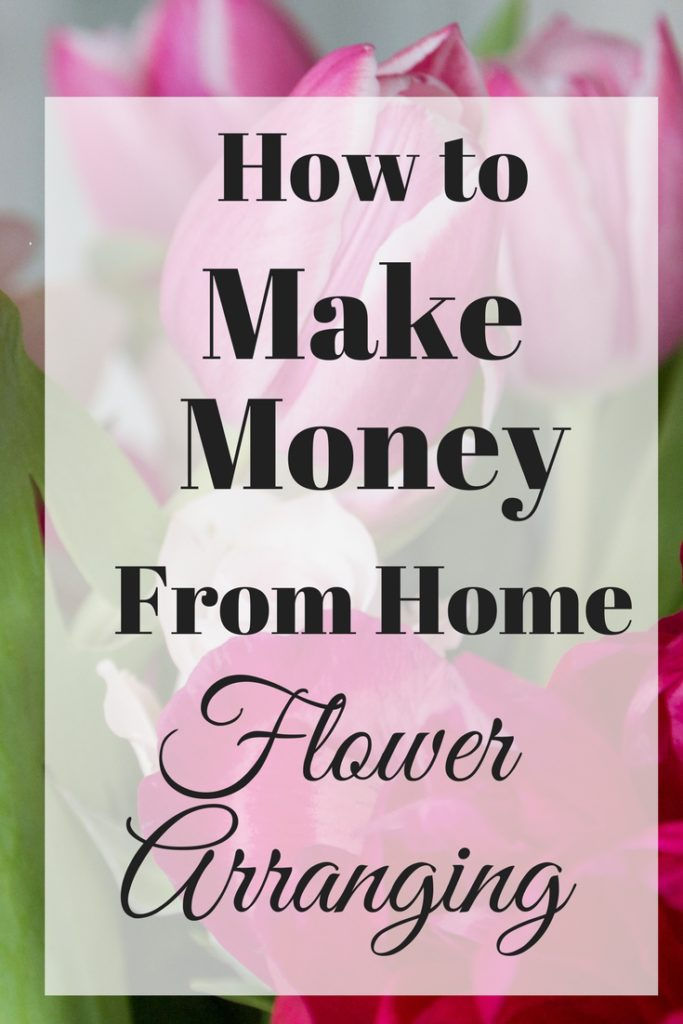 how to make money flowers