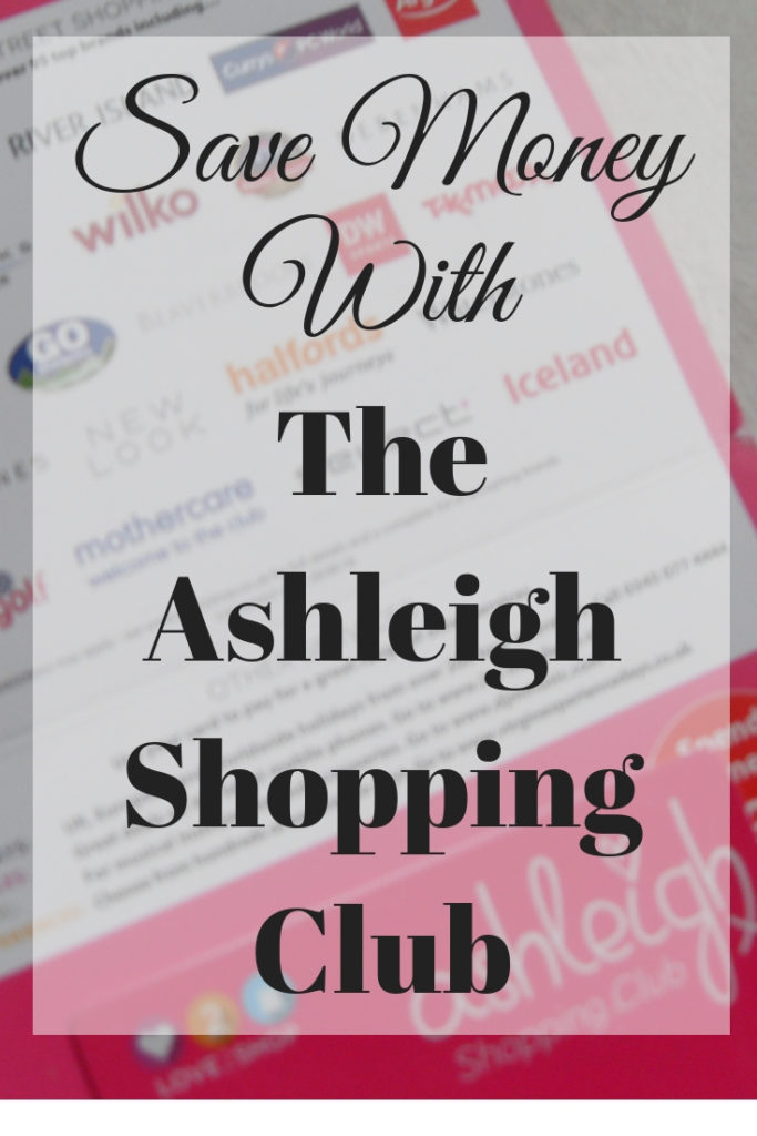 how to save money with the ashleigh shopping club