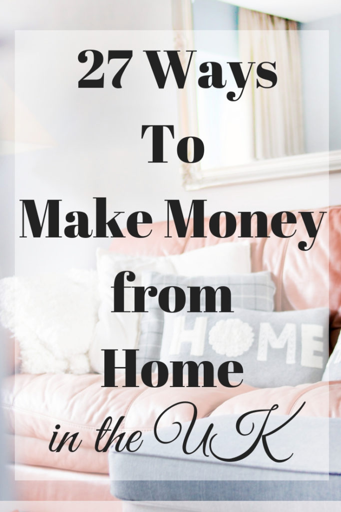 façons de gagner de l'argent à domicile au Royaume-Uni